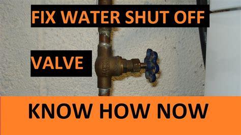 Gallery of toilet shut off valve won t shut off