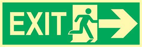 Stiker Tanda Jalur Evakuasi