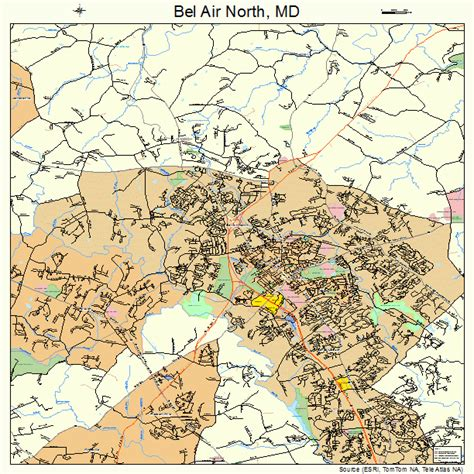 maryland map bel air bel air maryland map 2405825