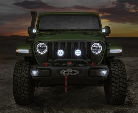 racing jeep wrangler new wranglers show off mopar jeep performance parts