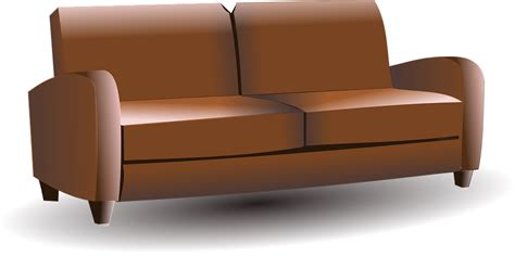couch svg free vector graphic furniture sofa leather sofa free