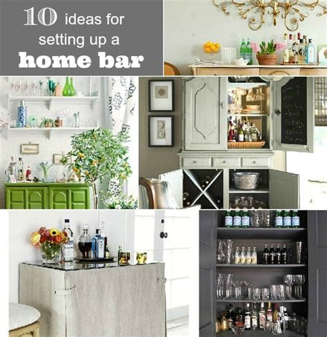 bar at home 10 ideas for setting up a home bar celebrations at home