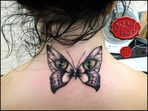 tattoo cat and butterfly the butterfly cat by loop1974 on deviantart