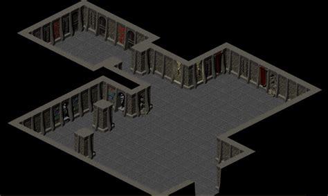 Bookshelf Stand Classic Dungeon Walls Opengameart Org