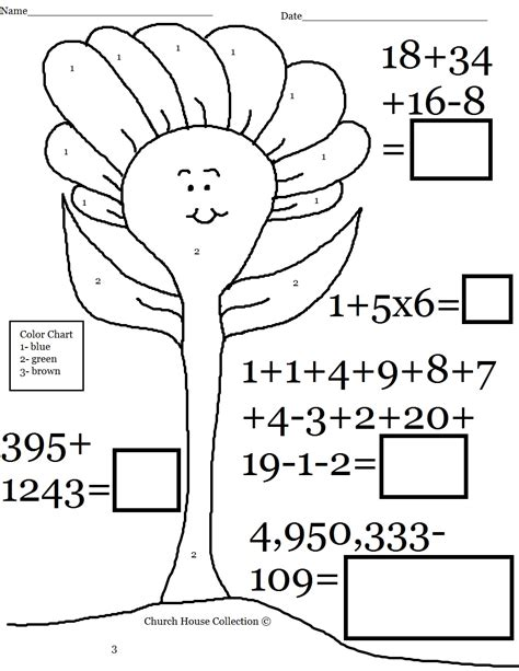 Coloring Page Grade 3 by Free Math Coloring Worksheets 3rd Grade Murderthestout