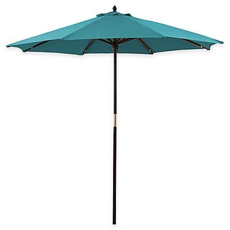 Buy 9 Foot Round Hardwood Patio Umbrella From Bed Bath Buy Patio Umbrella