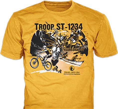 design t shirt online usa trail life usa licensed custom t shirts banners