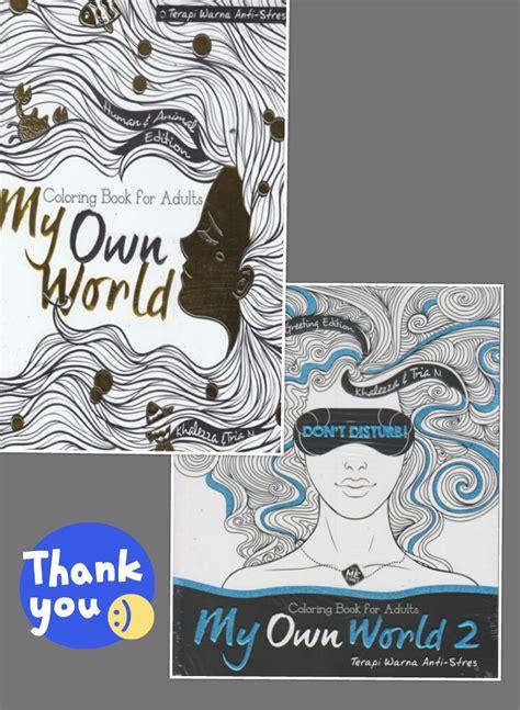 Paket Buku Colouring Travel Size jual terapi warna anti stress paket coloring book for