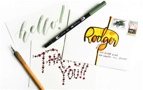 tutorial instagram on hand creative hand lettering tutorials part i the postman s