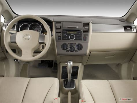nissan tiida 2008 interior 2008 nissan versa interior u s news world report