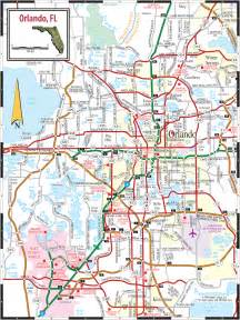 orlando city map orlando fl mappery