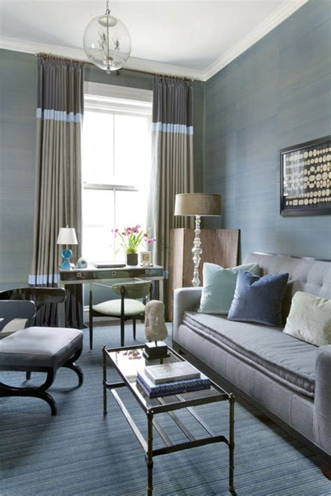 wohnzimmer blau grau blue grey living room ideas dgmagnets