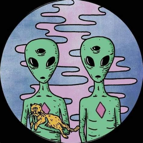 imagenes tumblr aliens drawing hipster draw green imagination alternative