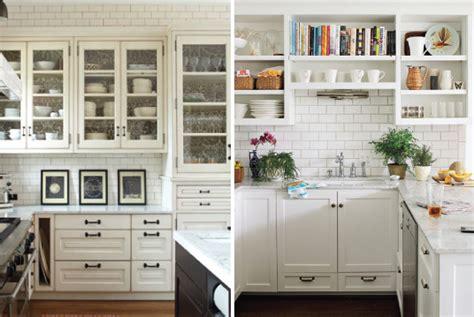 kitchen shelves vs cabinets beauty vignette design kitchen cabinets vs open shelves
