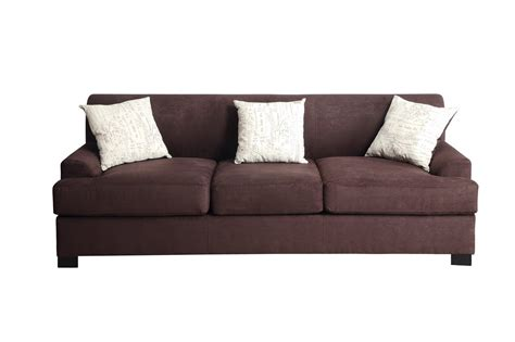 Brown Fabric Sofas poundex nia f7981 brown fabric sofa a sofa
