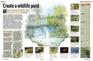 how to build a wildlife pond discover wildlife