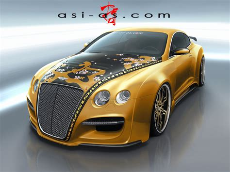 black and gold bentley asi bentley continental gtr gold concept photo 1 3436