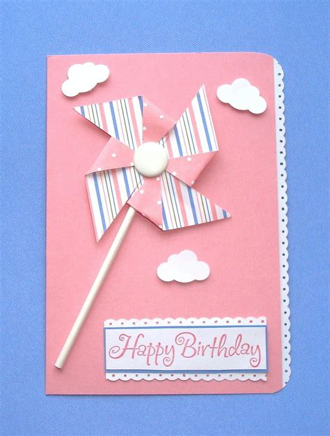 Handmade Bday Cards - color handmade birthday cards trendy mods