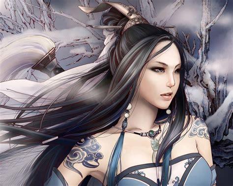 wallpaper anime girl warrior anime chinese warrior full hd anime beauty girl warrior