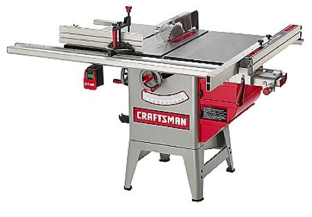 10 inch table saw evolution of craftsman table saws toolmonger
