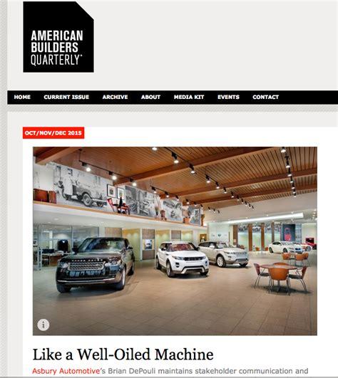 katsilverstein   Like a Well Oiled Machine: American