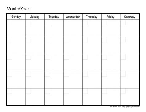 online printable fill in calendar monthly calendars to print and fill out calendar
