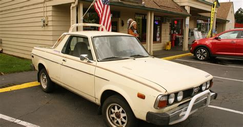 old subaru brat old parked cars 1978 subaru brat