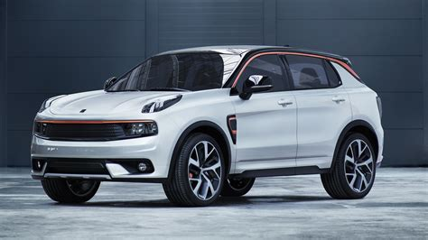 volvo co geely owned lynk co unveils volvo xc40 based 01 crossover