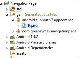 multiple layout xml files for one activity day 2 structure of android application project