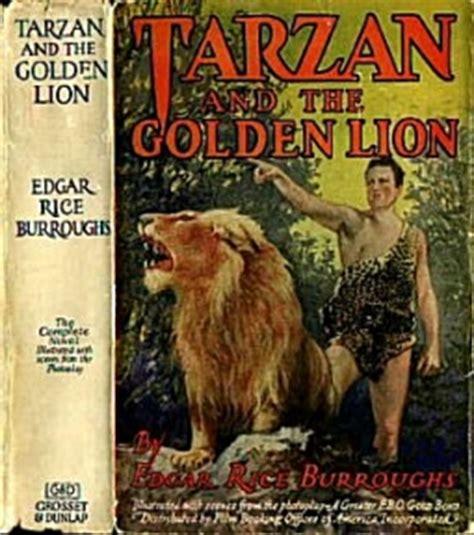 golden lion film club erbzine 0496 tarzan and the golden lion movie edition