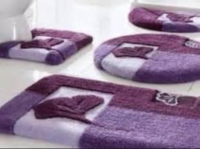 4 bathroom rug set home design