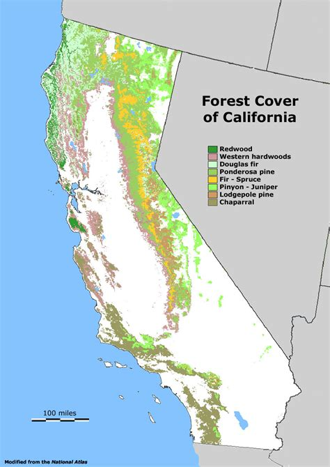 california map national forests geology cafe
