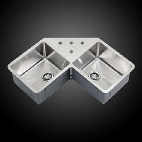 Corner Undermount Kitchen Sink Ticor 36 Quot Undermount Stainless Steel Bowl Corner Butterfly Kitchen Sink Ebay