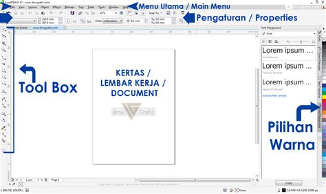 corel draw x7 keyboard shortcuts coreldraw fundamental tips trik penjelasan shortcut