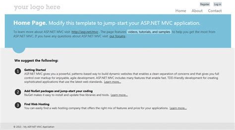tutorial asp net mvc entity framework asp net mvc 4 and entity framework based web development