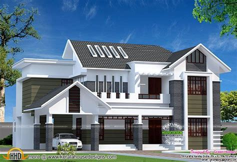 www kerala home design blogs 2800 sq ft modern kerala home kerala home design