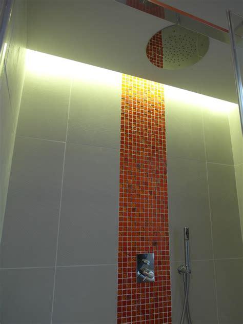 luce doccia progetto ristrutturazione completa di un appartamento a