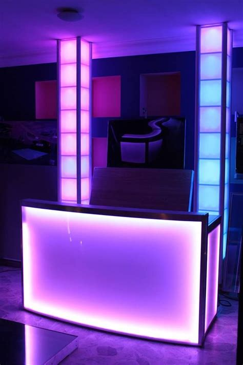 booth design lighting 17 best ideas about dj booth on pinterest dj table dj