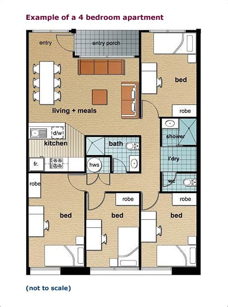 2 bedroom apartments adelaide the university of adelaide village accommodation service