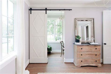 Home Office Barn Door With Diamond Trim Transitional Office Barn Doors