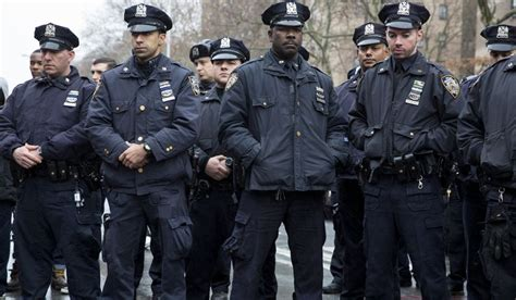 Nypd Officers by For To Bend Light