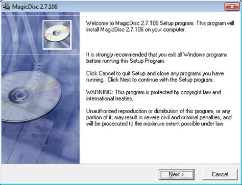 Magic Disc magicdisc for windows free software directory