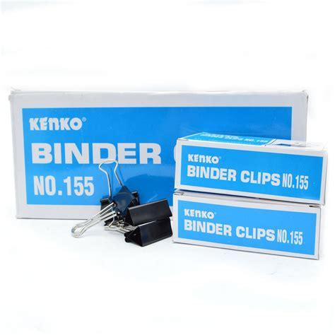 Kenko Binder Clip No 200 1 Lusin jual binder no 155 kenko atk atkstationary