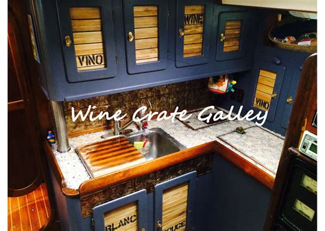 small boat interior design boat interior design inspiration wine crate galley
