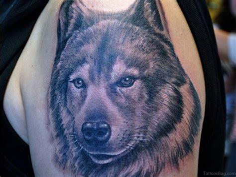 wolf head tattoo 51 wolf tattoos on shoulder