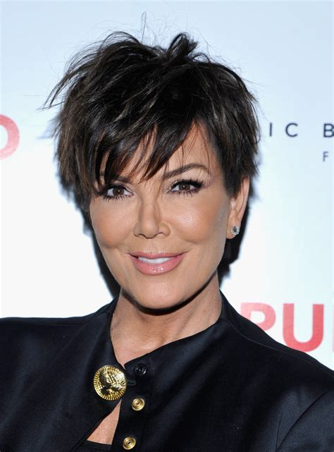 how to get kris jenner s hair kris jenner messy cut messy cut lookbook stylebistro