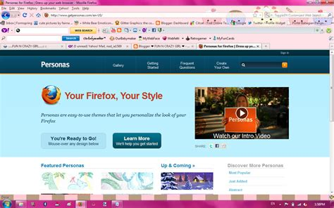 firefox themes personas penulis kampung persona theme for mozilla firefox