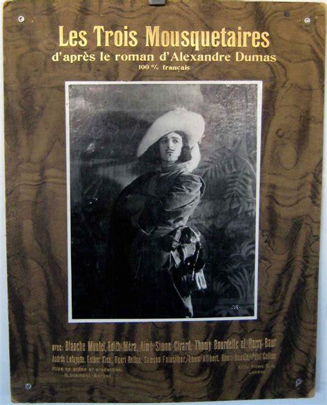 les trois mousquetaires classic reprint books quot las intrigas cardenal richelieu quot poster quot les