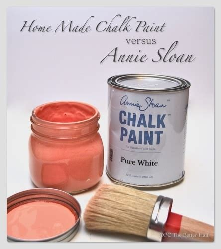 chalk paint vs stain chalk paint sloan and on