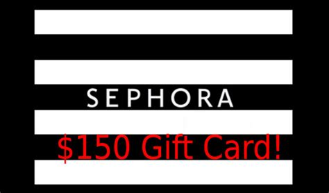 Sephora Email Gift Card - beauty spotlight team international giveaway 150 sephora